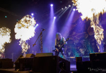 Picture of Vader in concert by Andrzej Wasilkiewicz
