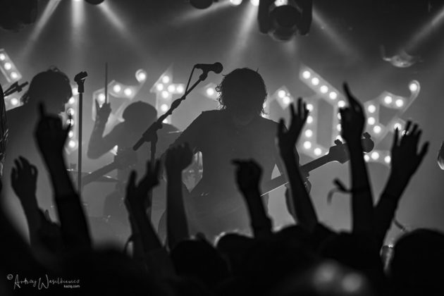 Picture of Palaye Royale in concert by Andrzej Wasilkiewicz