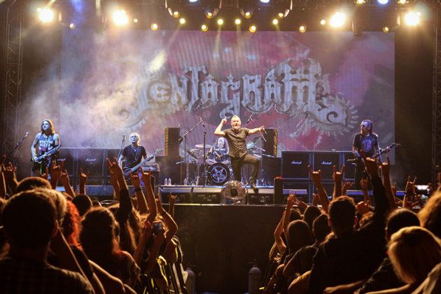 Picture of Pentagram in concert by Yusuf Belek
