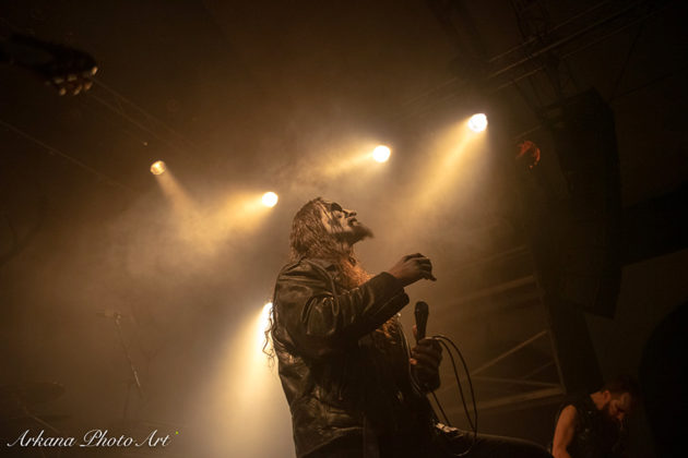 Picture of Gaahls Wyrd in concert by Roland Moeck