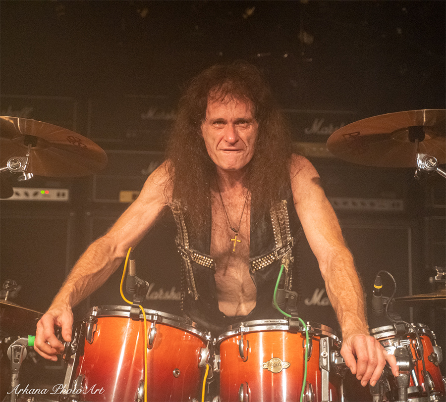 Picture of Exciter in concert by Roland Moeck