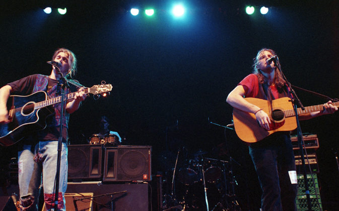 Picture of Acoustic Junction in concert by Bill O'Leary