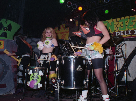 Picture of Green Jello in concert by Bill O'Leary