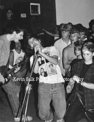 Picture of Circle Jerks in concert taken by Kevin Salk