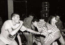 Picture of Descendents in concert taken by Kevin Salk