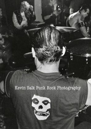 Picture of Misfits in concert taken by Kevin Salk