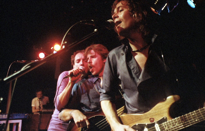 Picture of Kenny & The Kritix in concert taken by Bill O'Leary