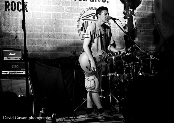 Picture of Fonjatura in concert taken by David Gasson