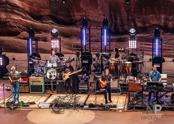 Picture of Umphrey's McGee in concert taken by Nikolai Puc