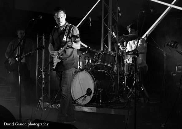 Picture of Antonio Baskijera in concert taken by David Gasson