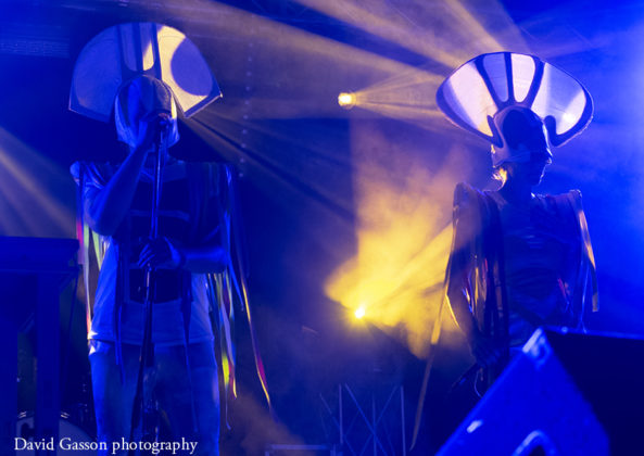 Picture of Nipplepeople in concert taken by David Gasson