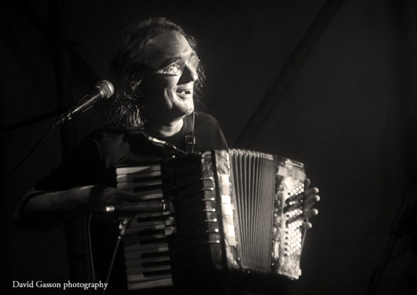 Picture of Hladno Pivo in concert taken by David Gasson