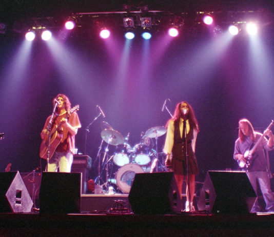 Picture of Doug & The Thugs in concert taken by Bill O'Leary