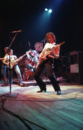Picture of Gran Slam in concert taken by Bill O'Leary