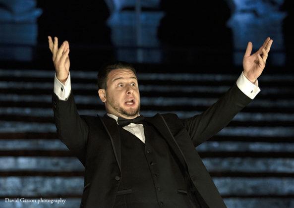 Picture of Ivan Šimatović concert taken by David Gasson