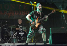 Picture of Dysmorfic in concert taken by David Gasson
