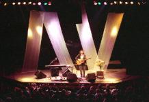 Picture of John Gorka in concert taken by Bill O'Leary