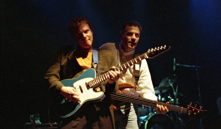 Picture of Curtis Salgado in concert taken by Bill O'Leary