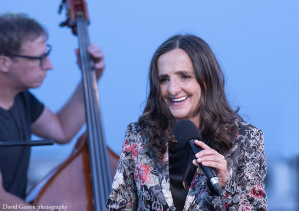 Picture of Tamara Obrovac in concert taken by David Gasson