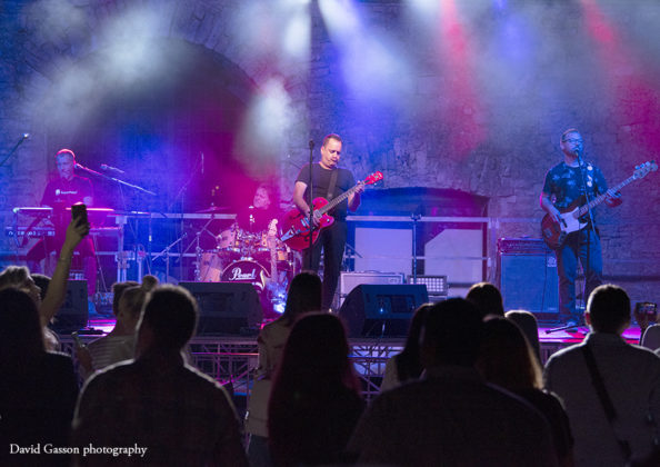 Picture of Neno Belan & Fiumens in concert taken by David Gasson